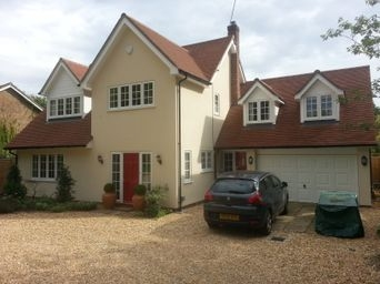 Parex project through coloured render Winchester