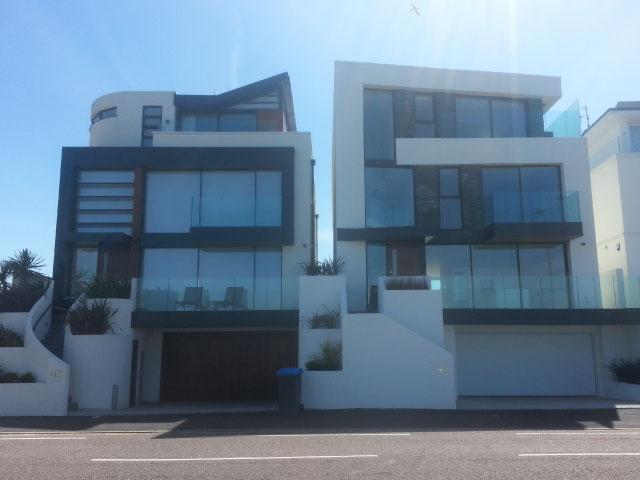 Sandbanks two houses